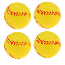 Hochwertiger Baseball Baseballbälle Ball mit Roten Nähten für Ballsport Stock