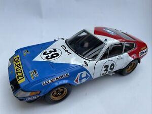 Ferrari 365 GTB4 model race car Daytona Competizione No. 39 1:18th Kyosho 8164E