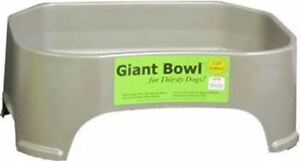 Giant Bowl   Extra Large Dog Water Bowl 2+ Gallon Huge Capacity Big Neater Pets