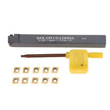 SCLCR1010H06 Bohrstange mit 10x CCMT0602 Wendeplatten Wendeschneidplatten Kit