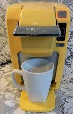 Keurig K10 Mini Plus Brewing System Single Serve Brewing Machine Banana Yellow