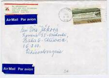 Canada MI 715 EF Letter by airmail in the CSR