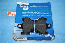 2 plaquettes de frein BENDIX Yamaha RD 350 80 125 LC SR 125 XT 500 TT 600 XJ 650