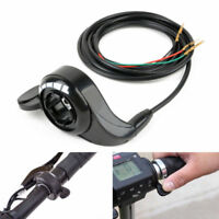 Universal Thumb Throttle Speed Control Electric Bike Scooter 24V 36V 48V 3 Wires