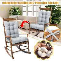 Swing Chair Cushion 150cm Outdoor Garden Hammock Bench Back And Seat Cushions