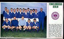 Tennis Borussia Berlin--Mannschaftsfoto--Fussball--Zeitungsausschnitt von 1967-