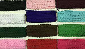 9mm RIC RAC Ribbon/Braid/Trim RICRAC~Various Colours/Lengths~Superfast Despatch~