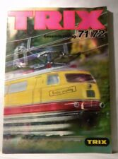 Trix Catalog 1971/1972 Gesamtkatalog