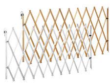 Cancelletto per cani LIN XXL naturale e bianco 62 - 230 cm | barriera recinto