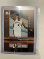 2003 Upper Deck Rookie Exclusive LeBron James Rookie #1 Rc Cavs Lakers Heat