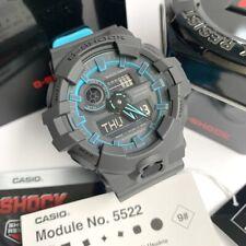 Casio G-Shock * GA700SE-1A2 Grey with Blue Resin Watch for Men Ivanandsophia