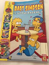 Bart Simpson Little Rascal #8 (Softcover,2003) American Diner Cover