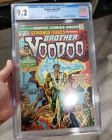 Strange Tales #169 CGC 9.2 Marvel 1973 1st Brother Voodoo! Key Bronze!