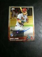 2015 Topps Chrome Jake Lamb Auto