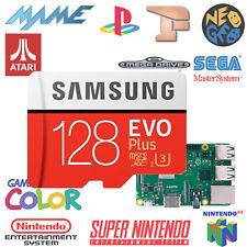 Micro sd recalbox 128go / +50 consoles / +30 000 jeux
