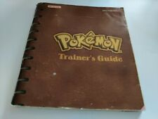 Pokemon Red/Blue Manual Only, Nintendo Gameboy