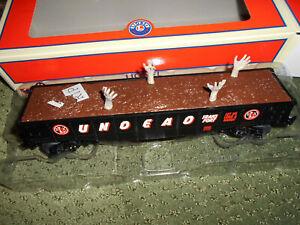 Lionel 1928390 Halloween Undead Transport Gondola Train Car O 027 MIB New
