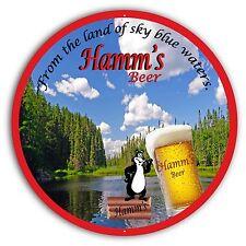 """Hamm'S Beer Sign - 24"""" Diameter"""