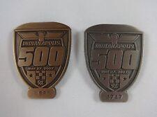 2007 Indianapolis 500 Bronze & Silver Pit Badge Dario Franchitti Andretti Green