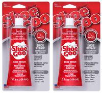 SHOE GOO CLEAR CLEAR SHOE REPAIR - 2 - 3.7 OZ TUBES