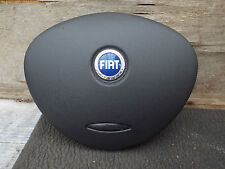FIAT DOBLO DRIVER STEERING WHEEL AIRBAG COVER GENUINE BLACK