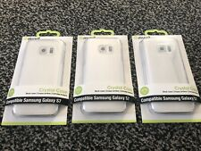 3 x Muvit Crystal Case Samsung Galaxy S7 Protective Cover Clear Cheapest Price