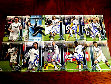 Vancouver Whitecaps 2013 Topps Partially Signed Team Set cards Current Roster