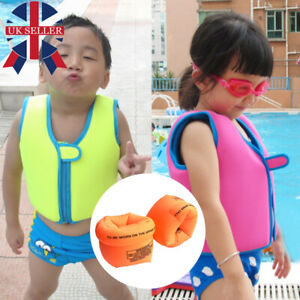 Boys / Girls Life Jacket Kids Floating Vest Swim Watersport Pool Buoyancy Aid UK