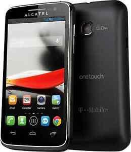 New ALCATEL ONETOUCH Evolve 5020T 4GB Black T-Mobile Smartphone