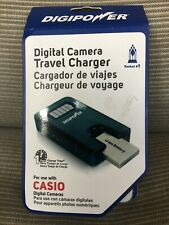 DIDIPOWER DIGITAL CAMERA TRAVEL CHARGER FOR CASIO NEW