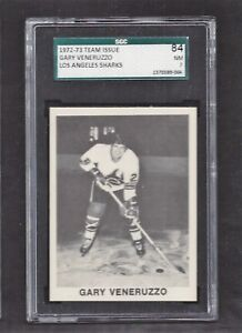 1972 Team Issue Gary Veneruzzo, SGC 84 NM 7, Vintage Los Angeles Sharks 1972-73