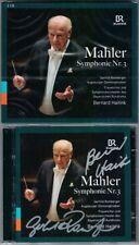 Bernard HAITINK, Gerhild ROMBERGER Signiert MAHLER Symphony No.3 Bayerischen 2CD