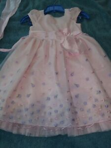 JONA MICHELLE Beautiful GIRLS SPECIAL OCCASION DRESS Pink And Lavender SZ 5