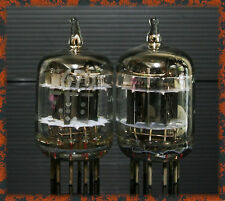 Match 1 Pair GE 5670 3 mica square getter TUBES 6N1 396A Western Electric