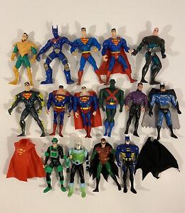 DC Action Figure Lot Superman Batman Kenner, Mattel, Unlimited 1990s 2000s