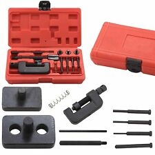 MOTORCYCLE MOTORBIKE CHAIN BREAKER SPLITTER LINK RIVET RIVETING TOOL REPAIR KIT