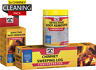 SET of CONCENTRATED soot/creosote removers - chimney cleaners. Pack of 3!