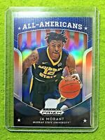 JA MORANT PRIZM ROOKIE CARD JERSEY #12 MS RC GRIZZLIES SP 2019 Prizm DP BLUE rc