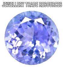 Natural Violet Tanzanite Round Cut 3.5mm Gem Gemstone