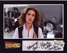 Claudia Wells Signed Back To The Future Photo w/ Hologram Coa