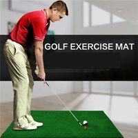 Indoor Golf Practice Grass Mat Backyard Training Hitting Pad Golf Mat With Tee