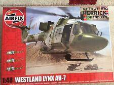 Airfix Lynx AH-7 Marina Real/Helicóptero Ejército Sin Caja 1:48th)