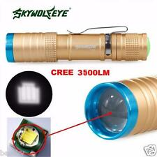 CREE 3500 Lumens 3 Modes XML T6 LED Flashlight Torch Lamp Light Outdoor USE
