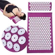 Acupressure Relieve Back Body Stress Pain Massager Mat Cushion NEU Yoga