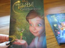 Tinkerbell & The Great Fairy Rescue Disney Movie Club 3D Lenticular Collector's