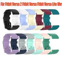 Für Fitbit Versa 2 Fitbit Versa / Lite Silikon Uhrenarmband Handschlaufe