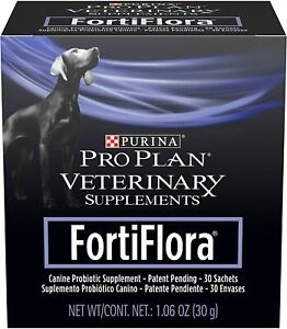 Purina FortiFlora Probiotics for Dogs, Pro Plan Veterinary Supplements Powder or