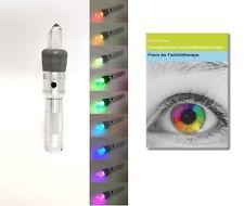 Mobiles Bergkristall Farblichtsystem - Farblampe - Farblichttherapie  NEU