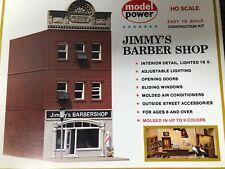 Model Power HO Scale Jimmy's Barber Shop