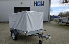 Hochplane für Stema Pkw-Anhänger - F 750 DBL 750 850 grau - Baumarktanhänger